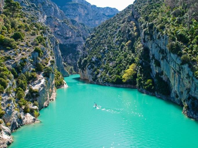 Gorges Du Verdon - Bezienswaardigheden Provence