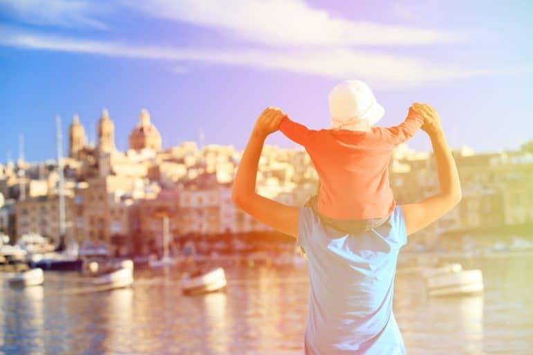 Malta bezoeken met kinderen