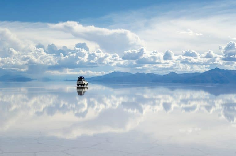 Zoutvlakte van Salar de Uyuni