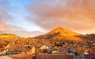 Posoti, mijnstad van Bolivia