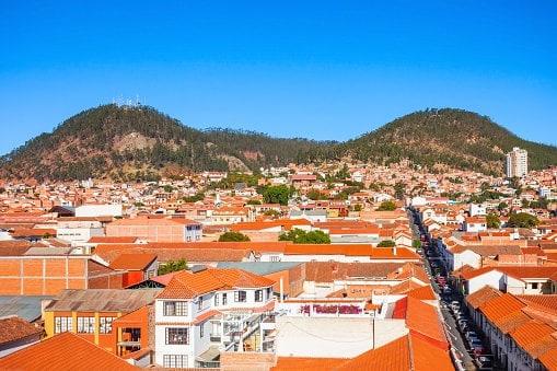 Sucre, stad