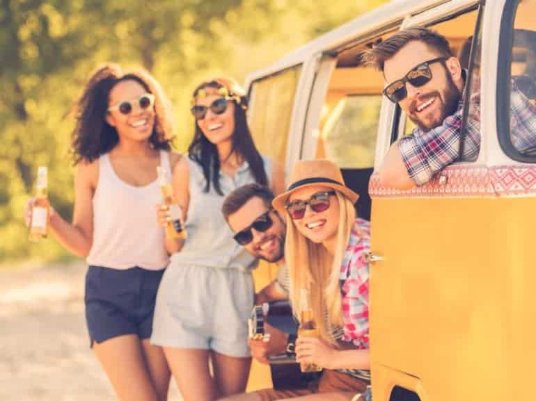 Vrienden maken op reis