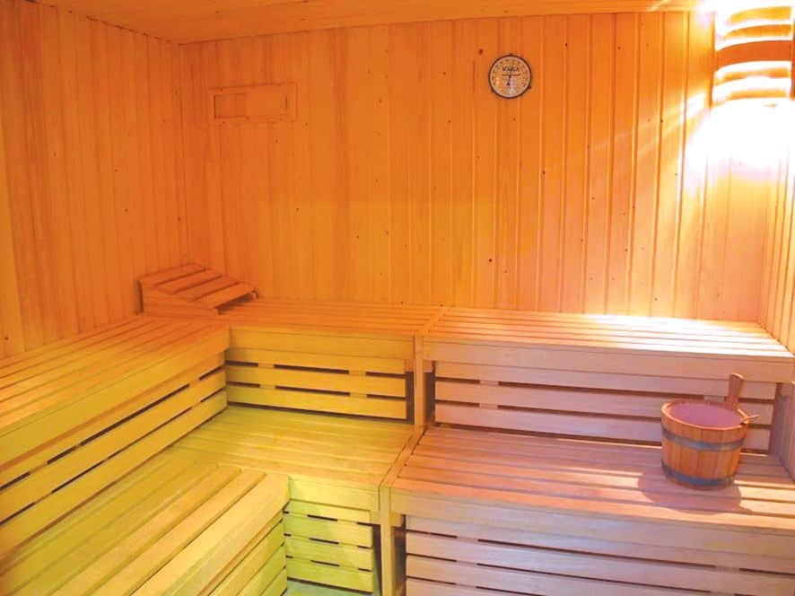 Sauna in Hotel Victoria