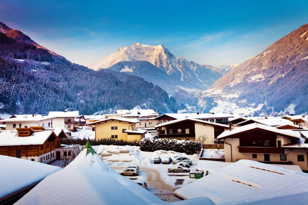 Op TUI Skivakantie naar Mayrhofen in Oostenrijk
