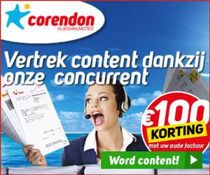 Corendon Promotie